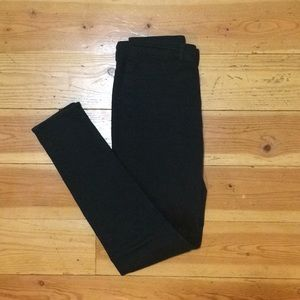 Divided High Rise Skinny Pants